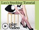 how to put on stockings